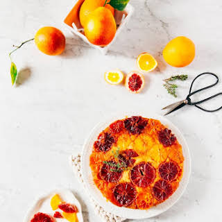 Orange Thyme Upside Down Cake.