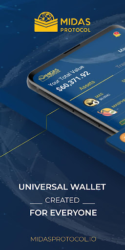 Midas Crypto Wallet: Bitcoin, Ethereum, XRP, EOS Apk 1
