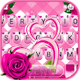 Roses Hearts Keyboard Theme