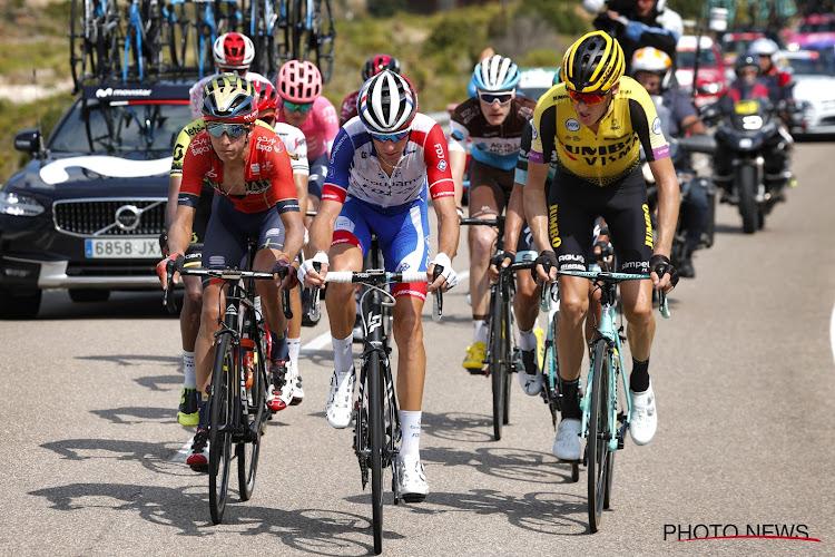 Jesus Herrada wint zesde rit, Dylan Teuns nieuwe leider in Ronde van Spanje