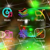 Neon HD Wallpapers icons pack