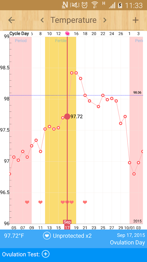 Period Calendar / Tracker- screenshot