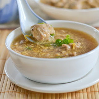 Maki Soup (Filipino-Chinese Pork Tenderloin Soup).