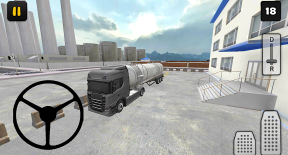 Truck Simulator 3D: Fuel Transport - náhled