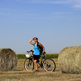 Autumn Moments #1 by Ovidiu Gruescu - Sports & Fitness Cycling