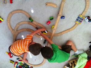 Photo: Clark and Finn Trains