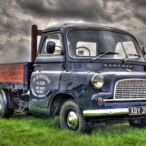 by Jade Newman - Transportation Automobiles ( car, hdr, vintage, truck, bedford, classic )