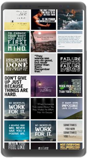 Motivational Quotes Wallpapers 2021 screenshot 5