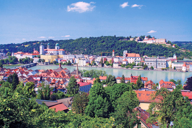 Passau, Austria, is among the destinations Scenic Cruises visits on its river cruise itineraries.