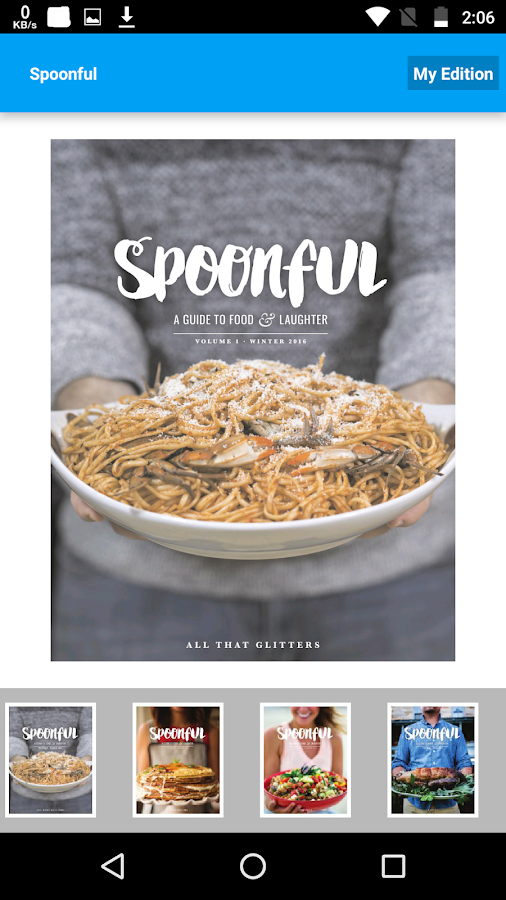 Spoonful Mag- screenshot
