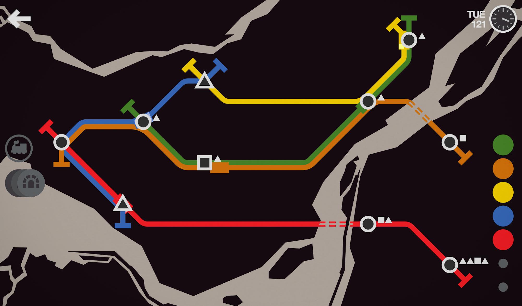 Mini Metro screenshot #5