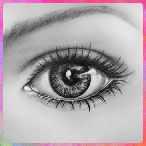 تعلم كيفية رسم العيون رسم الأفكار للمبتدئين التطبيقات على