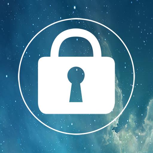 工具のロック画面のiPhone LOGO-記事Game