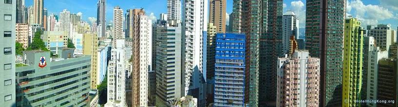 Photo: Hong Kong hotel room view