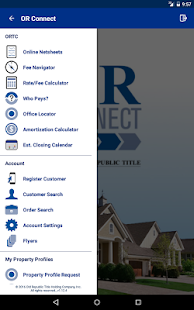 OR Connect Title & Escrow- screenshot thumbnail
