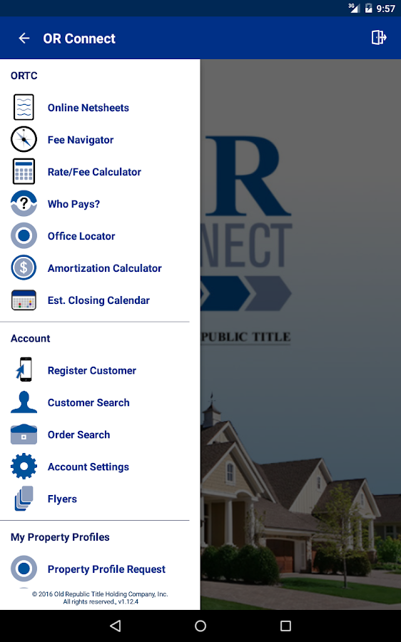 OR Connect Title & Escrow- screenshot