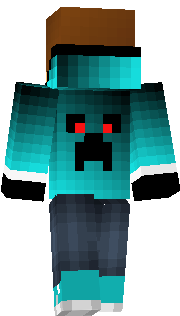 Cool boy skin with a creeper on the back! :D