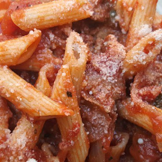 Fast & Easy Turkey Sausage Penne