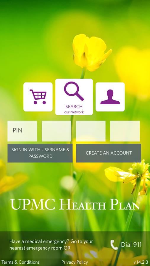UPMC Health- screenshot