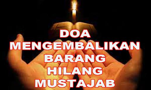 Amalan Doa Mengembalikan Barang Hilang Mustajab - náhled