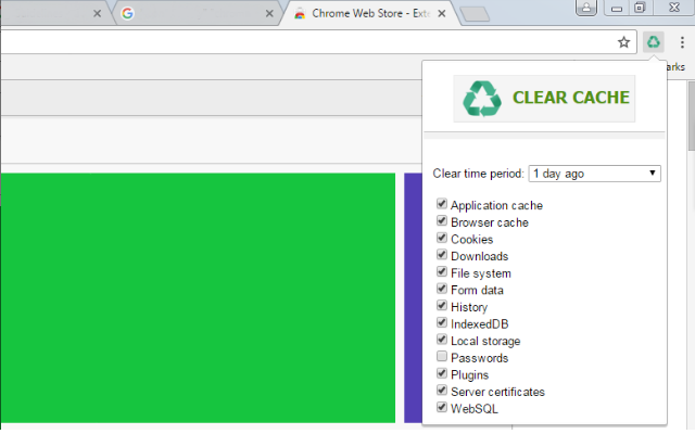 browser cache leeren chrome