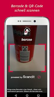 barcoo QR Code Barcode Scanner screenshot 00
