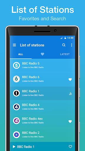 """internet radio """"listen fm"""" screenshot 2"""