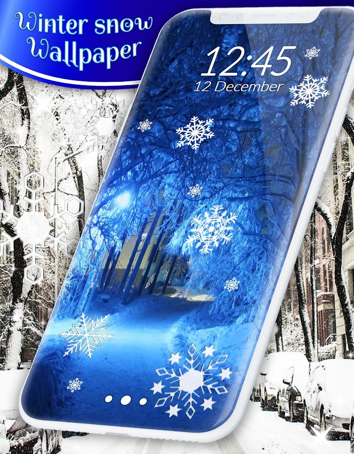 Winter snow wallpaper- screenshot