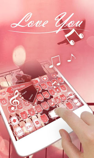 Love You GO Keyboard Theme