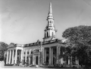 Photo: Saint George's  Cathedral on Edward Elliots Raod, Chennai on the 150th Anniversary Celebration on January 6, 1966.