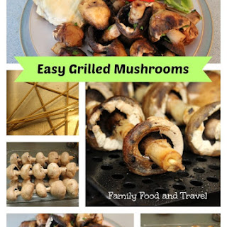 Easy Grilled Mushrooms Recipe