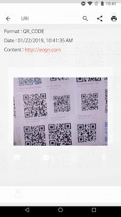 QR BarCode Screenshot