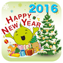 Happy New Year Wish 2016 icon