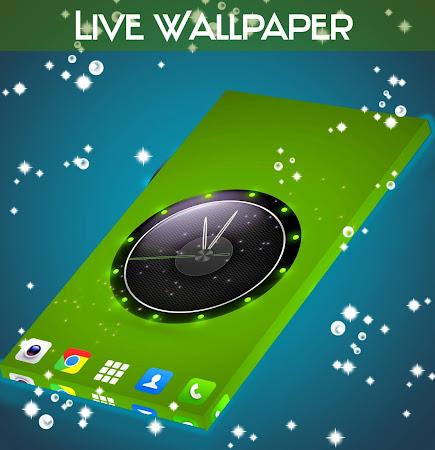 Live Wallpaper Clock for HTC 1.231.1.77 screenshot 2092426