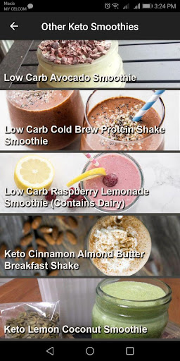 Keto Diet Smoothie Recipe 1.0.1 screenshots 2