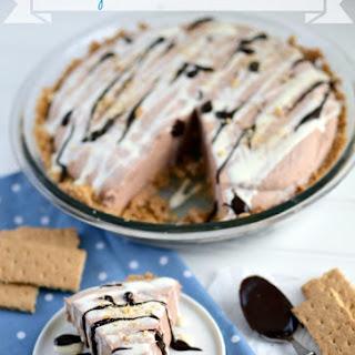 Skinny Frozen S'mores Pie