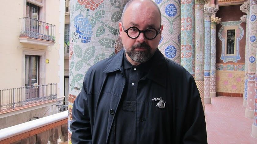 El escritor barcelonés Carlos Ruiz Zafón.