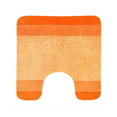 Коврик для туалета Spirella Balance оранжевый 55х55 см