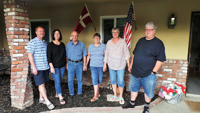 Photo: USA 2017 - Carsten, Kari, John, Hanne, Mona og Gert - 6 uger heraf 3 uger til texas