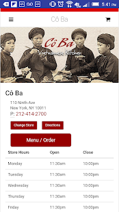 Cô Ba Vietnamese Kitchen- screenshot thumbnail
