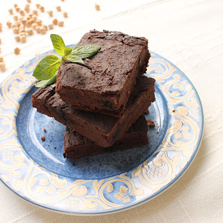 Chickpeas Brownies for Chocolate Lovers.