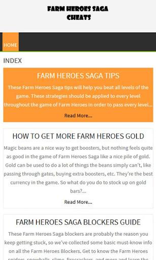 凡取得FarmHeroesSaga指南