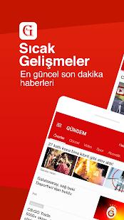 GÜNDEM: Son Dakika Haber, Güncel Haberler Screenshot
