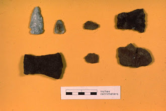 Photo: Metal tools quickly replaced stone - held an edge longer and were not as brittle.