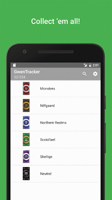 GwenTracker - screenshot