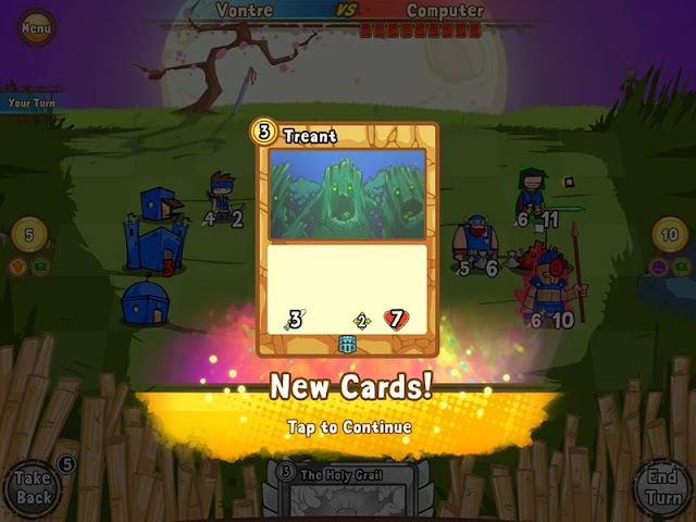 android Cards and Castles Screenshot 3