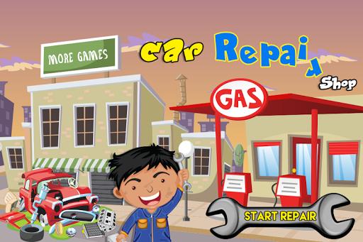 Car factory repair Shop game