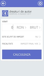 Calculator Venituri- screenshot thumbnail