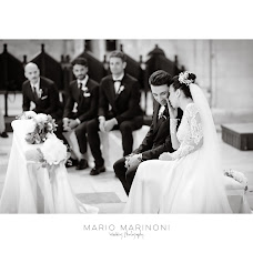 Wedding photographer Mario Marinoni (mariomarinoni). Photo of 02.02.2018