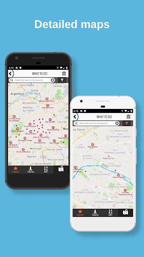 PARIS City Guide, Offline Maps and Tours screenshot 4